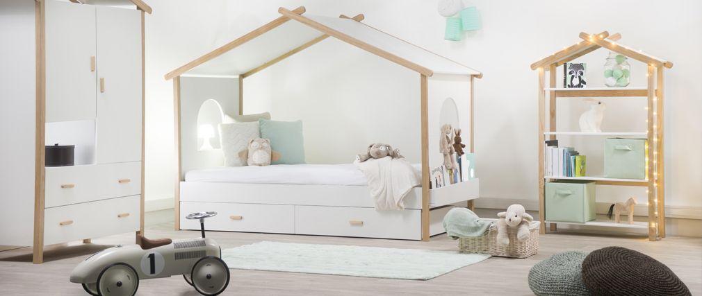 Cama cabaña infantil diseño BIRDY Habitación Emiliano Pinterest