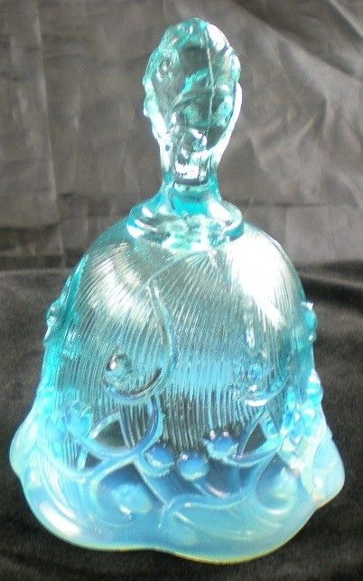 FENTON BLUE OPALESCENT LILY OF THE VALLEY BELL  http://www.ebay.com/itm/FENTON-BLUE-OPALESCENT-LILY-VALLEY-BELL-/370593686773?pt=LH_DefaultDomain_0=item56491ae4f5#ht_4090wt_754