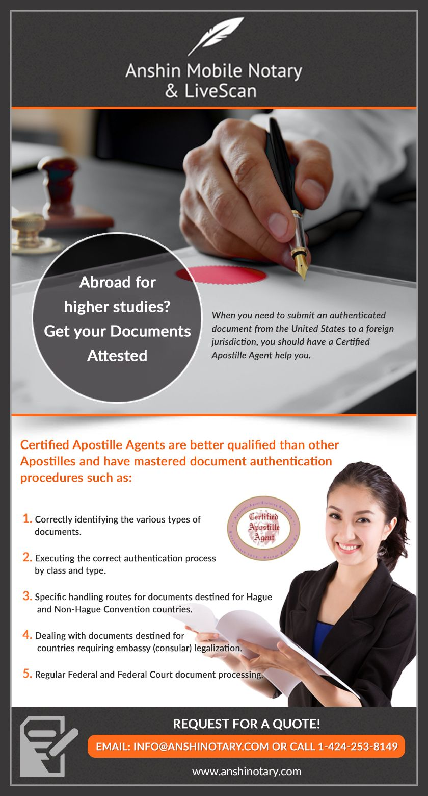 Apostille Los Angeles Mobile notary, Notary, Los angeles