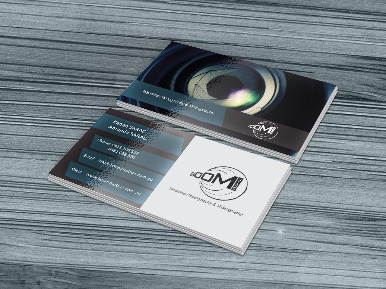 Boom motion videography business card graphic design pinterest boom motion videography business card reheart Gallery