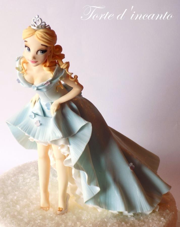 Cinderella Cake By Torte D Incanto 15 Anos Pinterest Cake