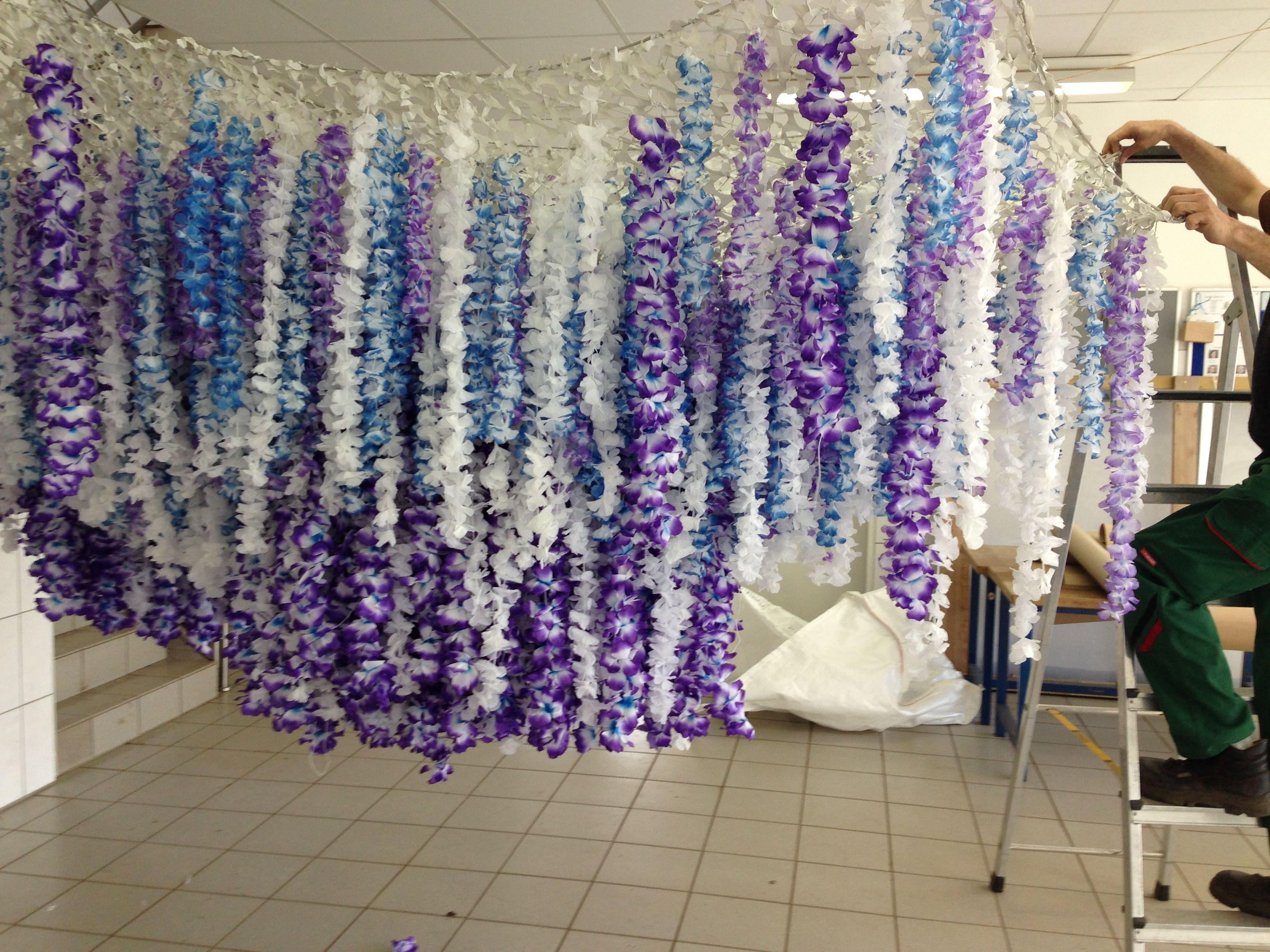 Superb Making of Magic Tree Dancefloor Kiesgrube Neuss Concept and realization by heilight