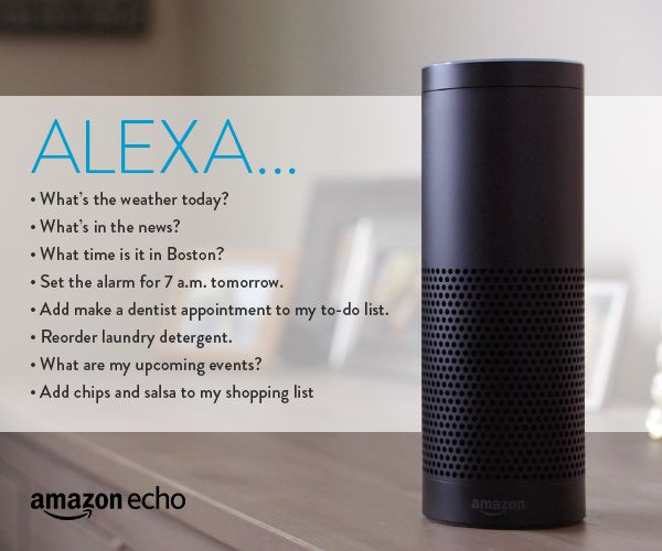 8 Everyday Commands For Your Amazon Echo Ask Your Alexa Everyday Questions To Help Keep You In The Know And Ready For Amazon Echo Alexa Device Amazon Alexa