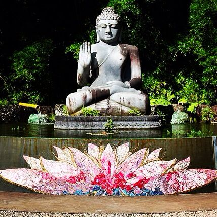 Crystal Castle Near Byron Bay Most Beautiful Serene Place I Have Ever Been Crystal Castle Statue Buddha