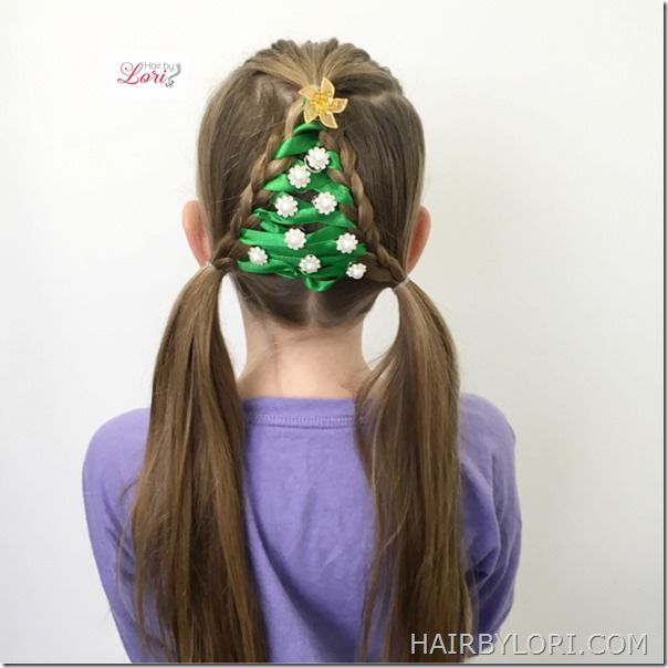 Amazing The Easiest Christmas Tree Braid Ever Trees Braids And Hairstyles For Men Maxibearus
