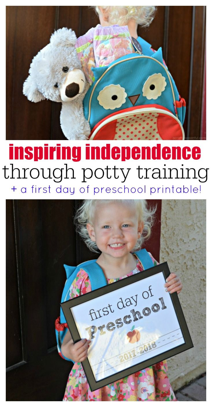 Learn how to inspire your child's independence through potty training with  a few tips with + a free first day ...