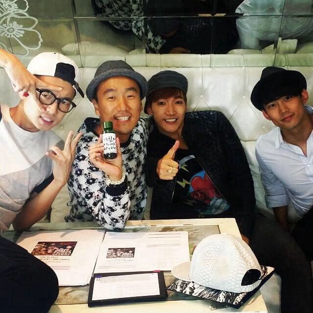 140910 Taecyeon, Jun. K & Wooyoung from jb1730's IG