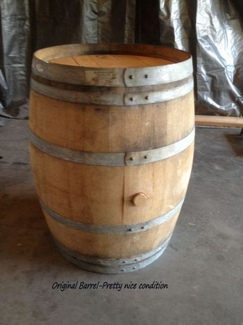 how to build a wine barrel