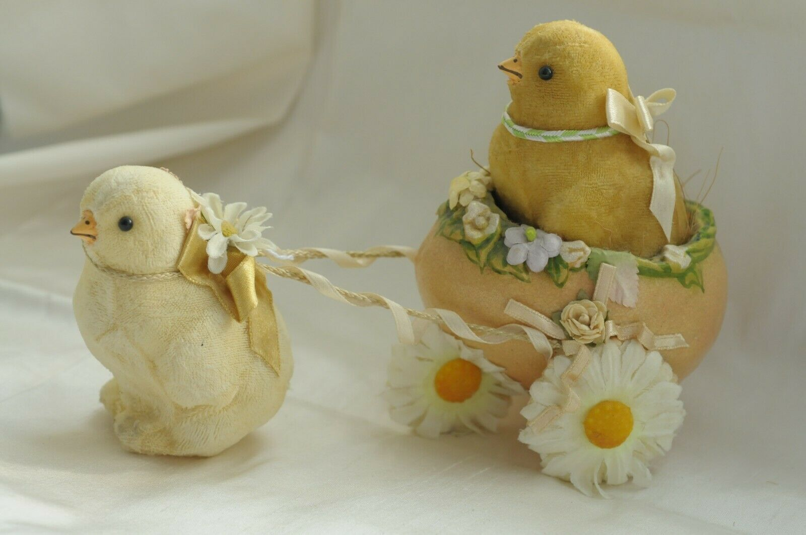 Vintage Easter Holiday Little Chicks Decor Ebay With Images