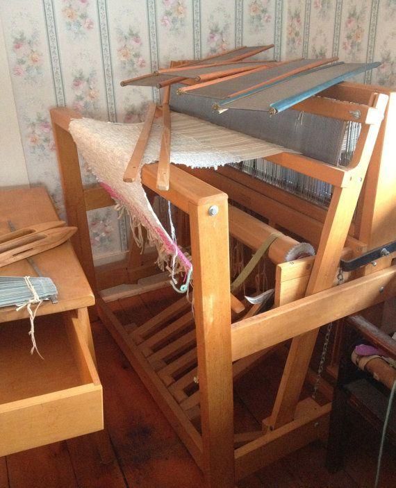 Vintage Gilmore Wooden Floor Loom