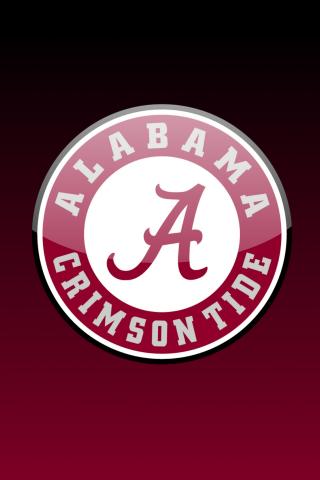 Alabama Crimson Tide iPhone Wallpaper iOS Themes