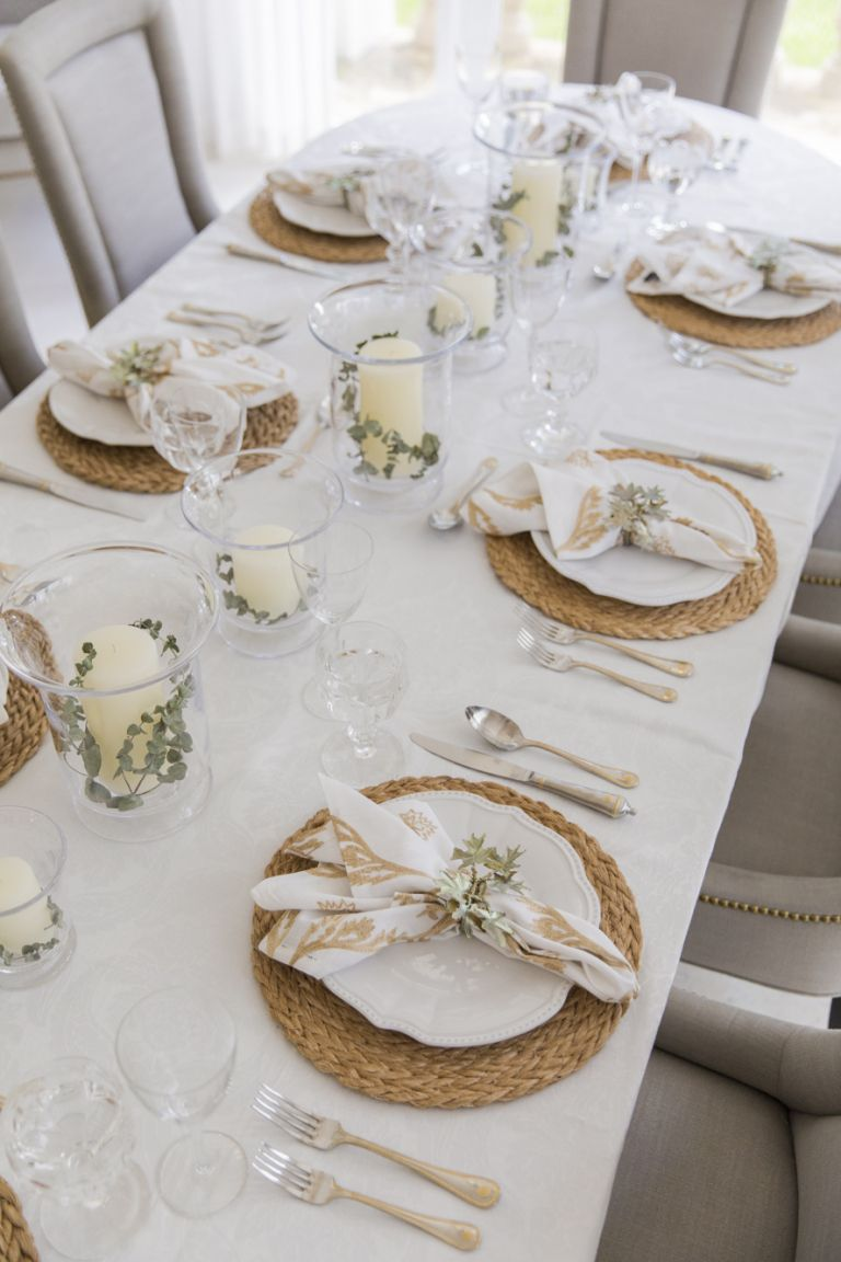 Setting the Table for Fall - Fashionable Hostess
