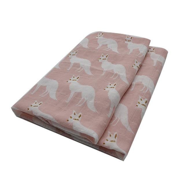 Natural Bamboo Cotton Blend Baby Blanket - FSHL