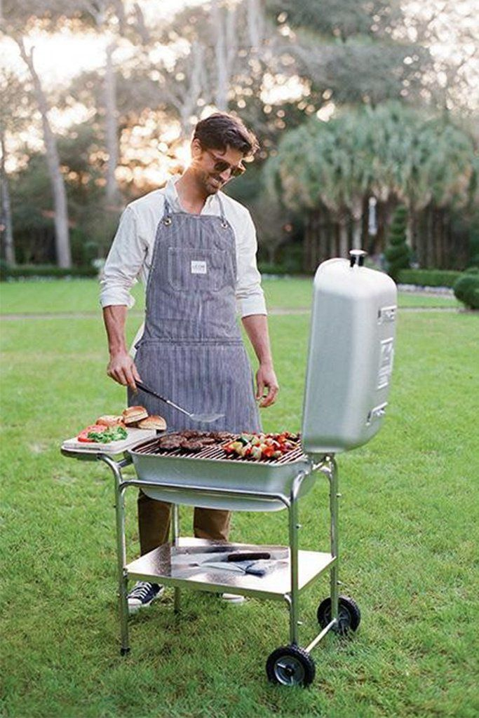 Portable Kitchen Charcoal Grill Bbq Smoker W Free Cooking A