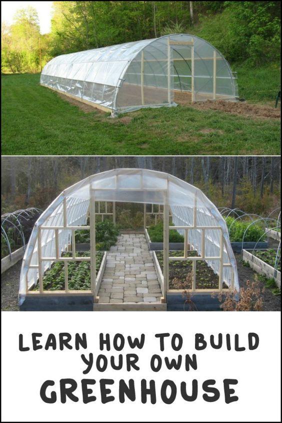 Diy Greenhouse Planes De Invernadero Invernadero Casero Jardin