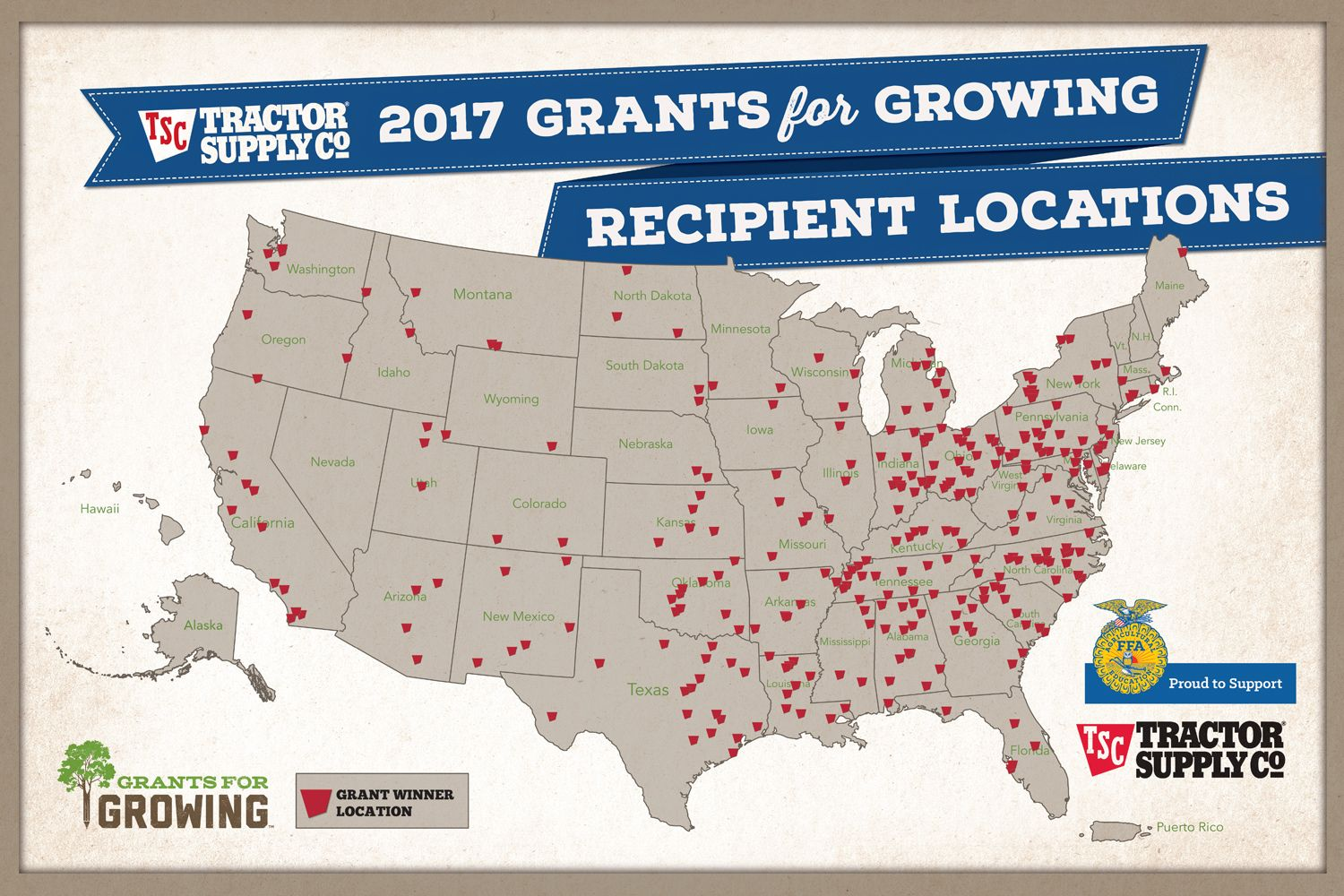 Apply Now For Tractor Supply Company Grants For Growing Ffa New Horizons Tractor Supply Company Tractor Supplies Tractors
