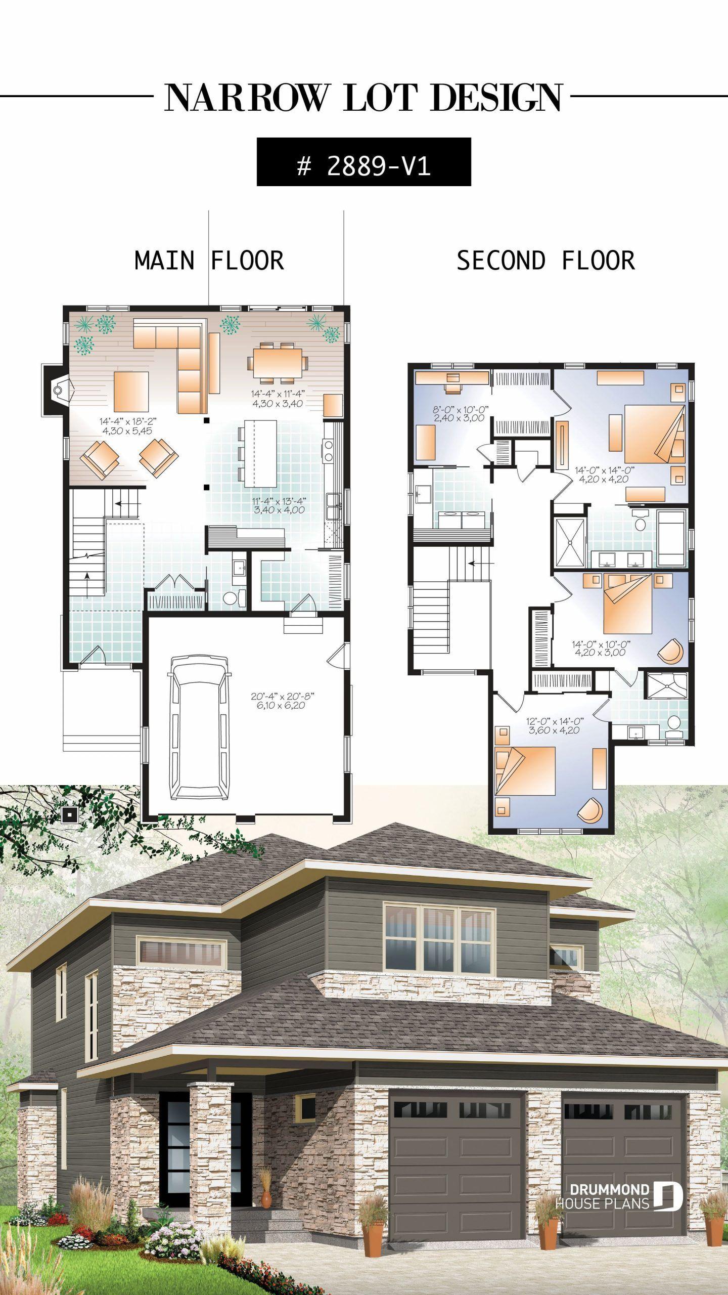 Open Floor Plan Home Designs 2020 Arsitektur Denah Rumah Denah Rumah Modern