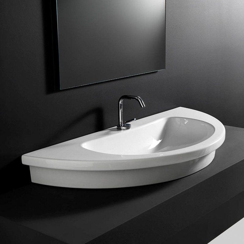 WS Bath Collections Kart 106 Drop In Bathroom Sink - KART 106 - WS32001F