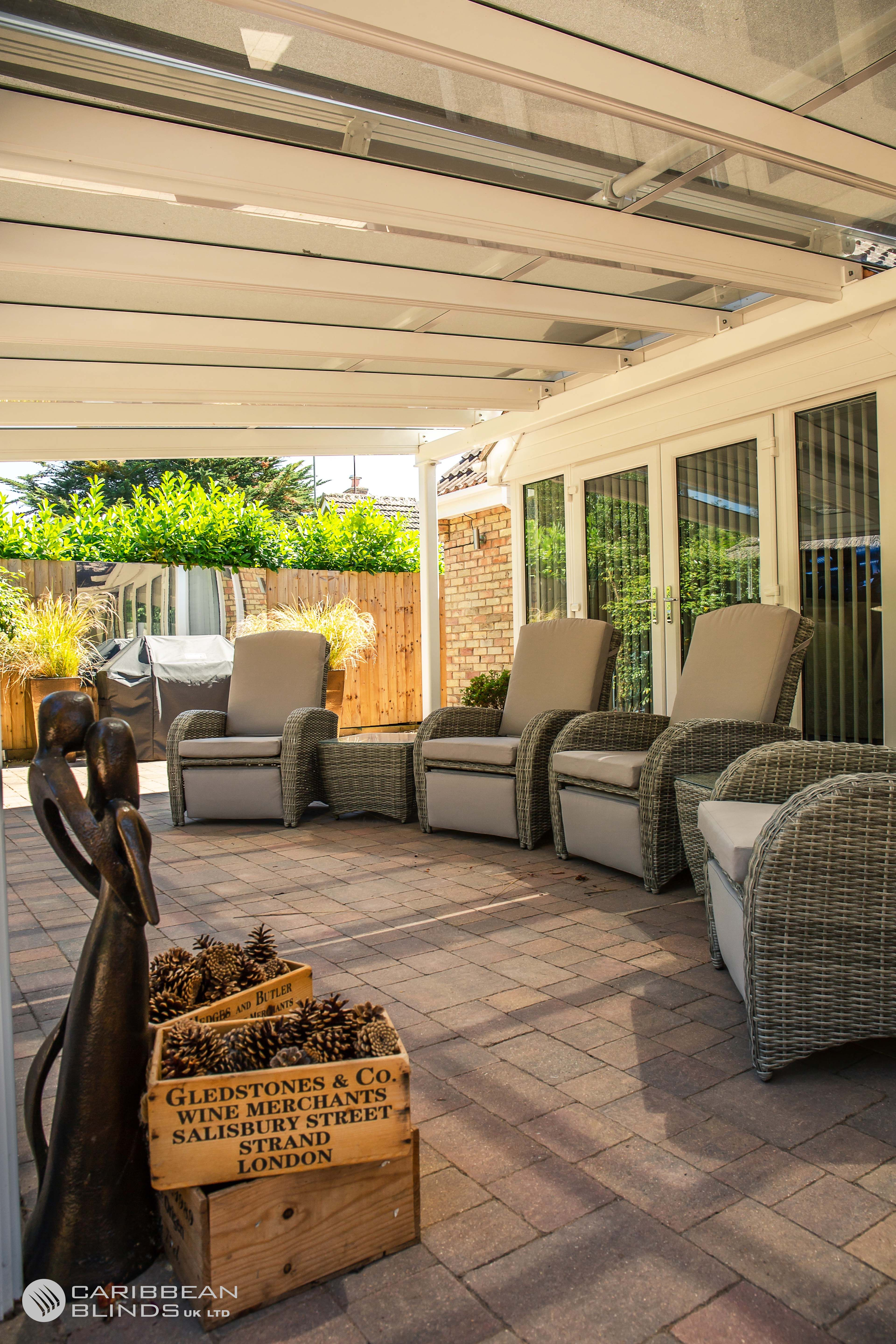 External Roof Blinds | Outdoor blinds, Conservatory roof ...