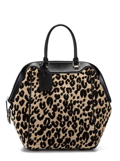 Runway Collection Leopard North South