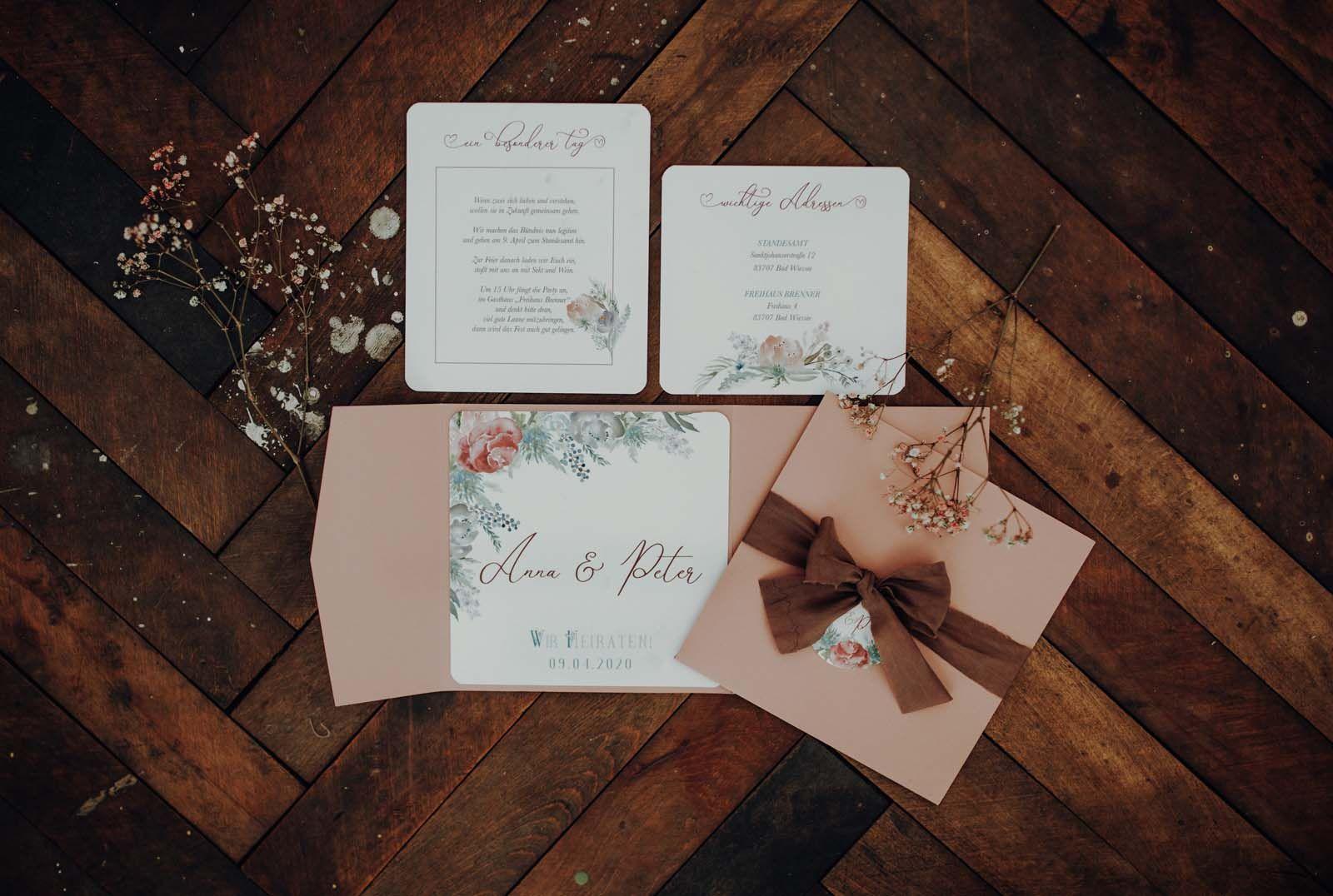 Berghochzeit Einladung Hochzeitseinladung Hochzeitskarten