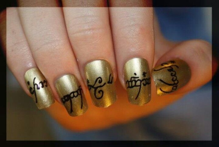 Lord of the rings | Nail Art Gallery | Pinterest | Nail art galleries