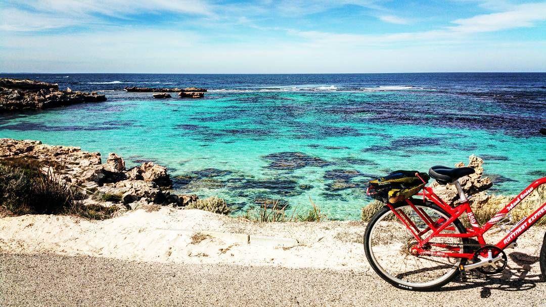 #rottnestisland #redbike #snorkling #beachlife #ocean #oceanview #lilgetaway by jaymetepuke http://ift.tt/1L5GqLp