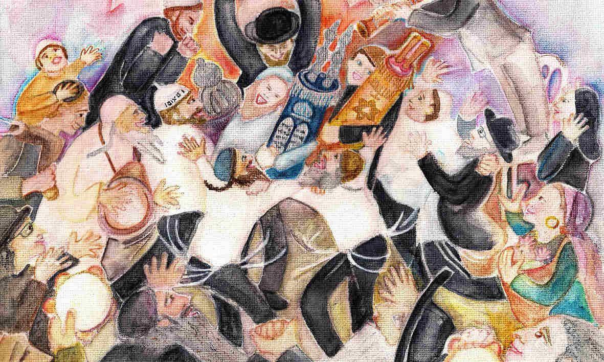 Pin By Kara Rose On Holiday Simchat Torah Pinterest Torah