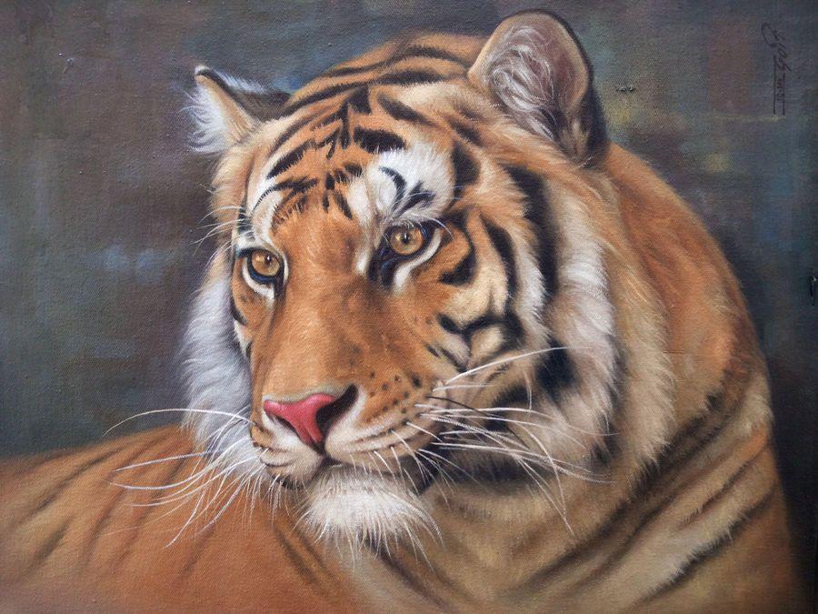 Terrifying Majestic Wildlife paintings, Painting, Artist