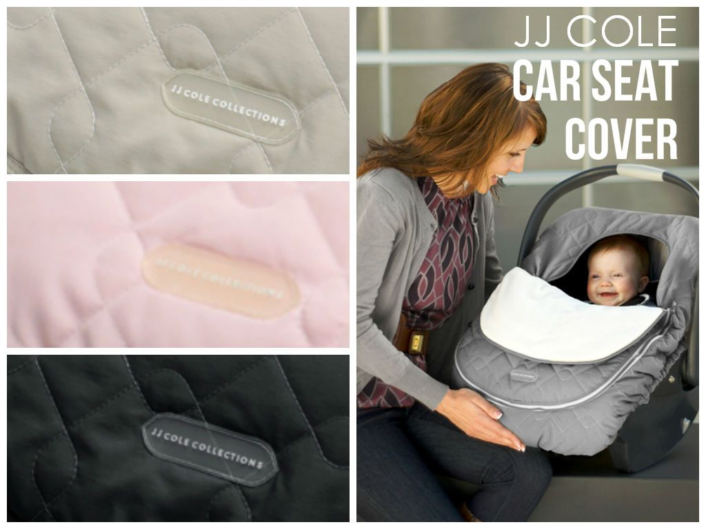 The JJ Cole Car Seat Cover Great For Traveling Zip Closed When Baby Is Sleeping Open Temperature Control Jjcole Carseatcover Travel