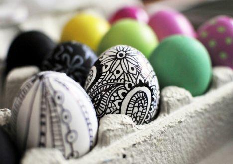 Ornamenttikuvioiset pääsiäismunat