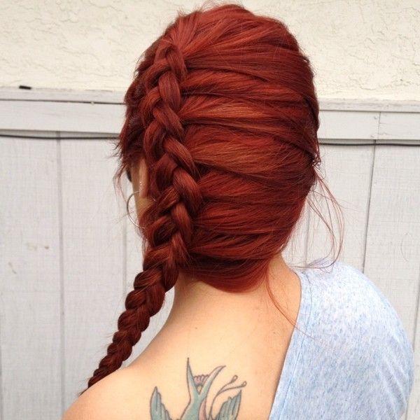 Obtenez une chevelure de rêve avec le henné ❤ liked on Polyvore featuring accessories, hair accessories, hair and cabelos