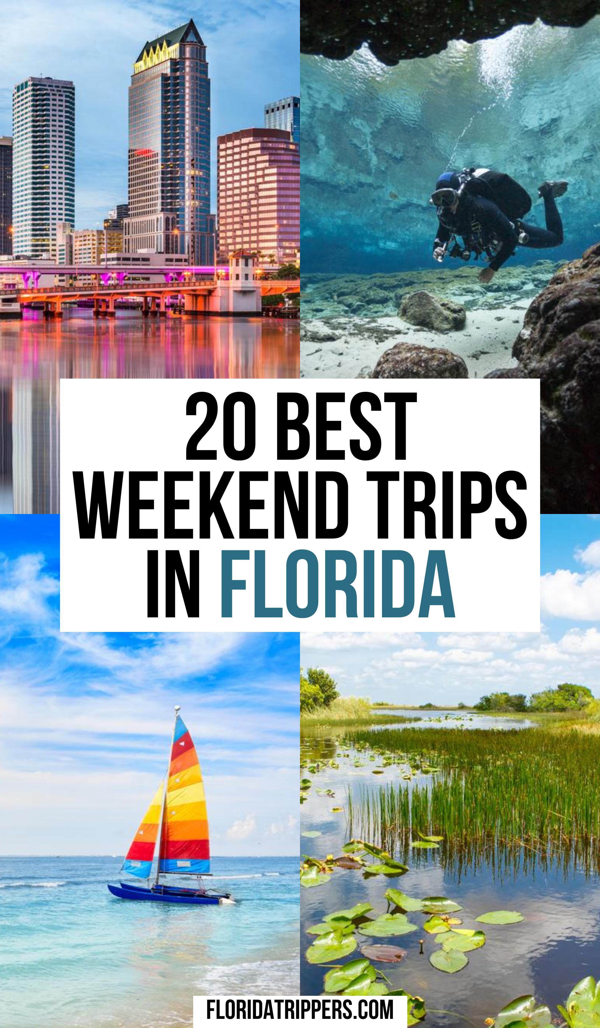 20 Interesting Weekend Getaways In Florida Best Weekend Trips Florida Travel Destinations Florida Travel