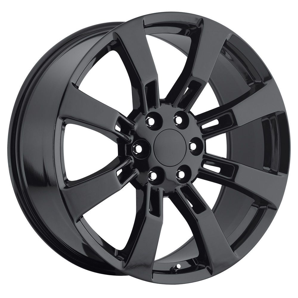 All Chevy black chevy rims : 24