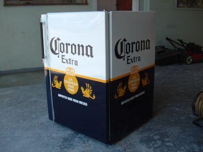 custom refridgetor | Corona beer fridge | Gizmos & Gadgets ...