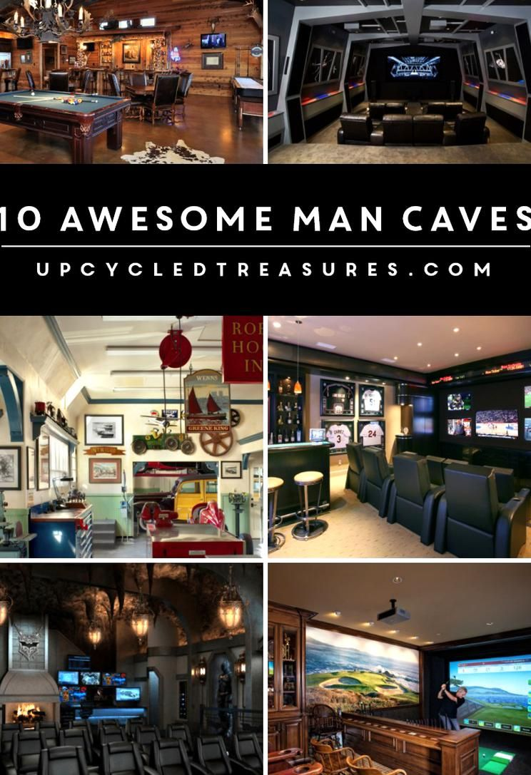 Every Guy And Gal Should Have Their Own Special Place To Retreat Check Out These 10 Awesome Man Cave Ideas Upcycledtreas In 2020 Best Man Caves Man Cave Room Man Cave