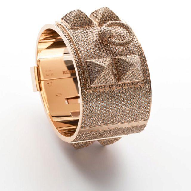 The Get | Hermès Collier de Chien Bracelet