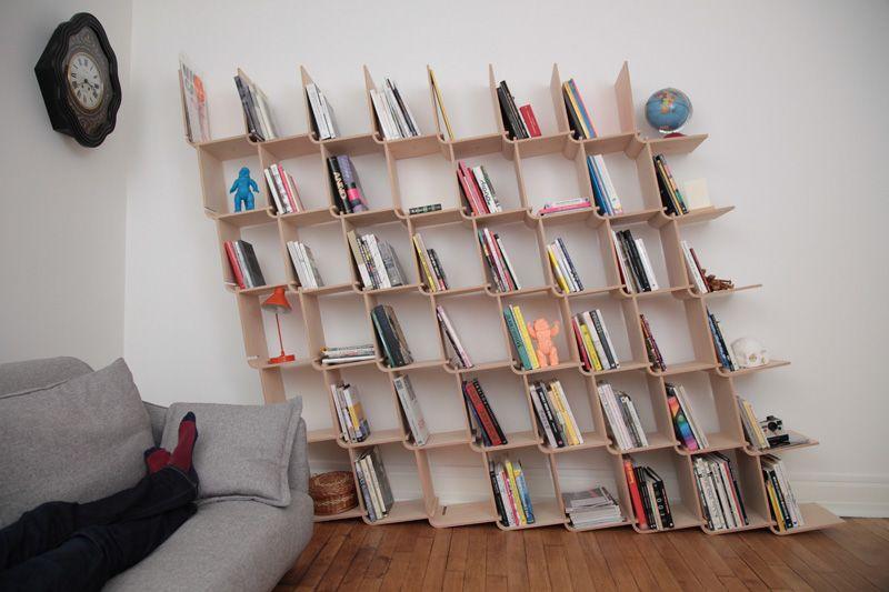 Étagère L een simpel in elkaar te zetten modulair boekenkast-systeem ...