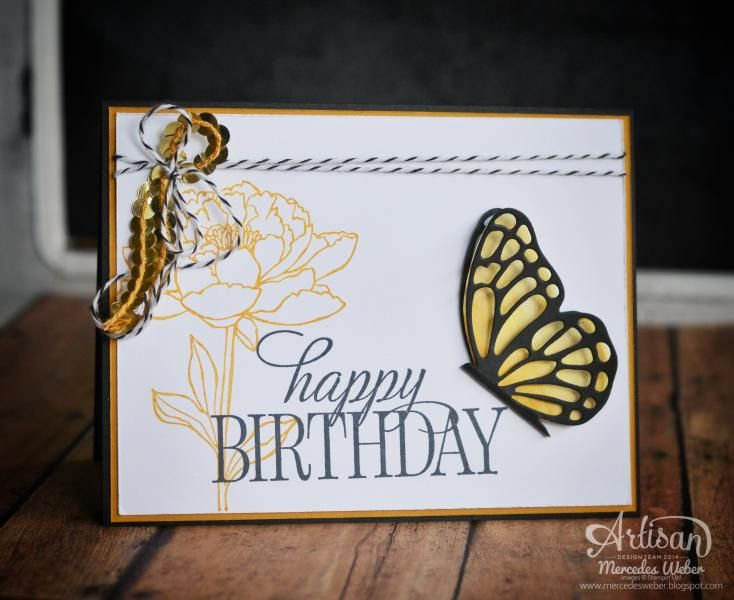 Butterfly Birthday by girl3boys0 - Cards and Paper Crafts at Splitcoaststampers