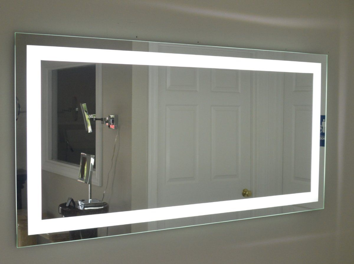 Front Lighted Led Bathroom Vanity Mirror 72 Quot X 36