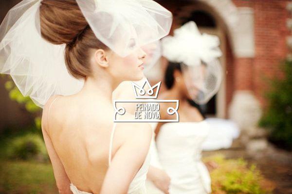 Peinado de novia para la novia de baja estatura