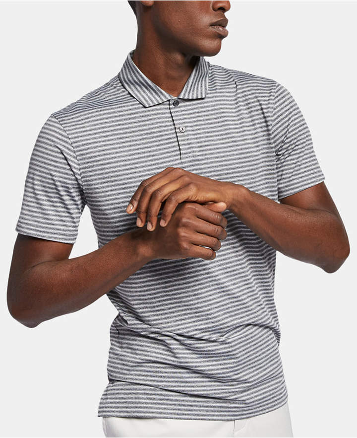 a18b31fe Nike Men's Tiger Woods Dri-fit Striped Golf Polo - Black XL in 2019 ...