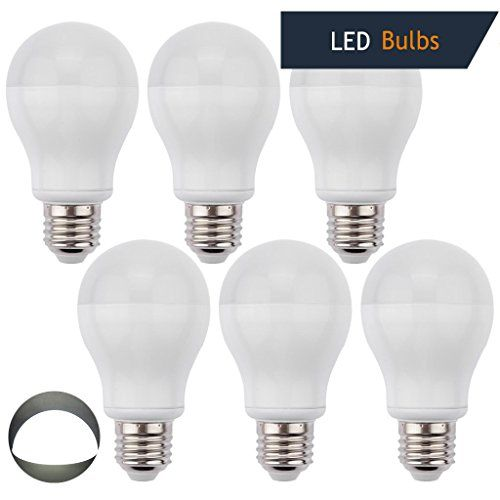 Ledmo 6 Pack E26 7w Led Bulbs 60w Incandescent Bulbs Equivalent White 6000k 630lm Led Light Bulbs Led Bul Led Bulb Led Light Bulbs Incandescent Bulbs