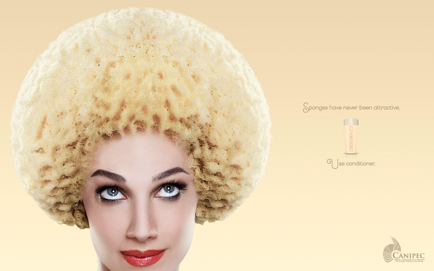 Anúncios de condicionador comparam cabelo a vassouras e esponjas - Adnews - Movido pela Notícia