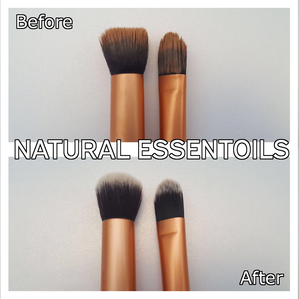 Are your makeup brushes naturally clean? natural