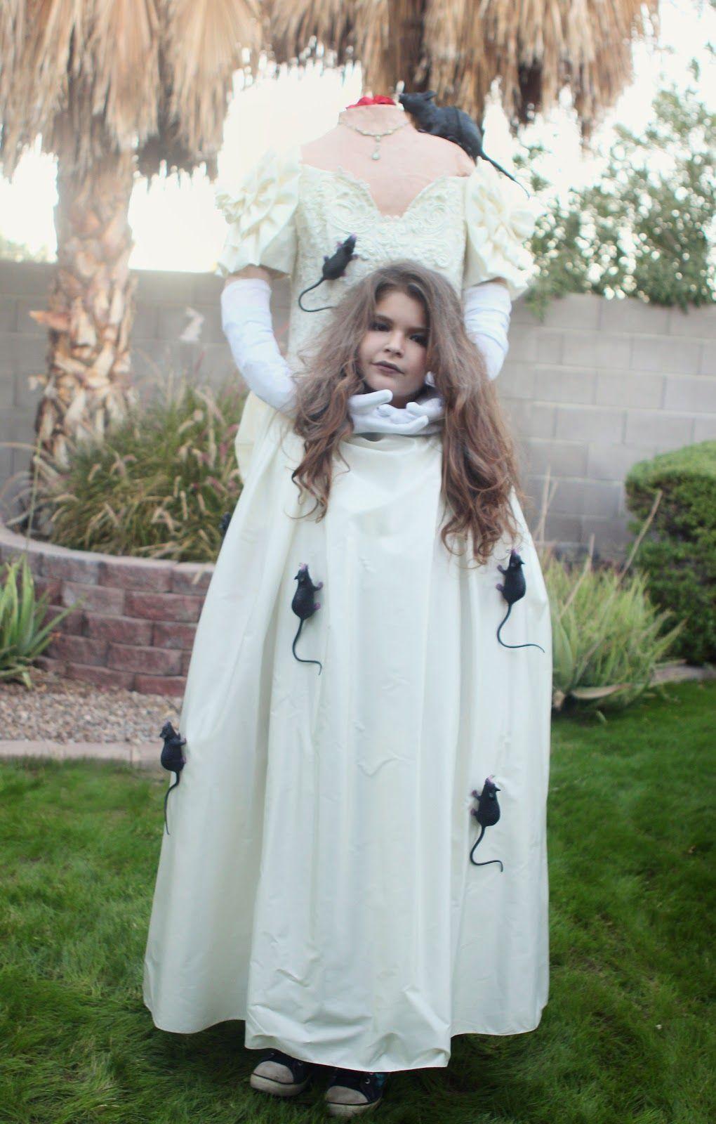 23 Little Girl Halloween Costume Headless Diy halloween