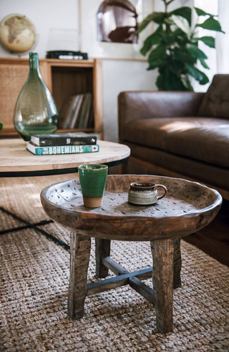 Balthazar Tray Side Table From Green With Envy Boho Side Table Side Table Table [ 1232 x 800 Pixel ]