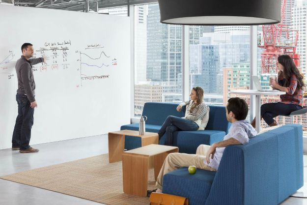 office whiteboard ideas. ideapaint convert your wall into whiteboard office ideas