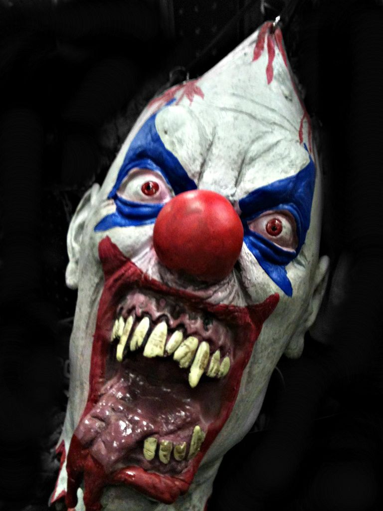 Pics clowns scary of
