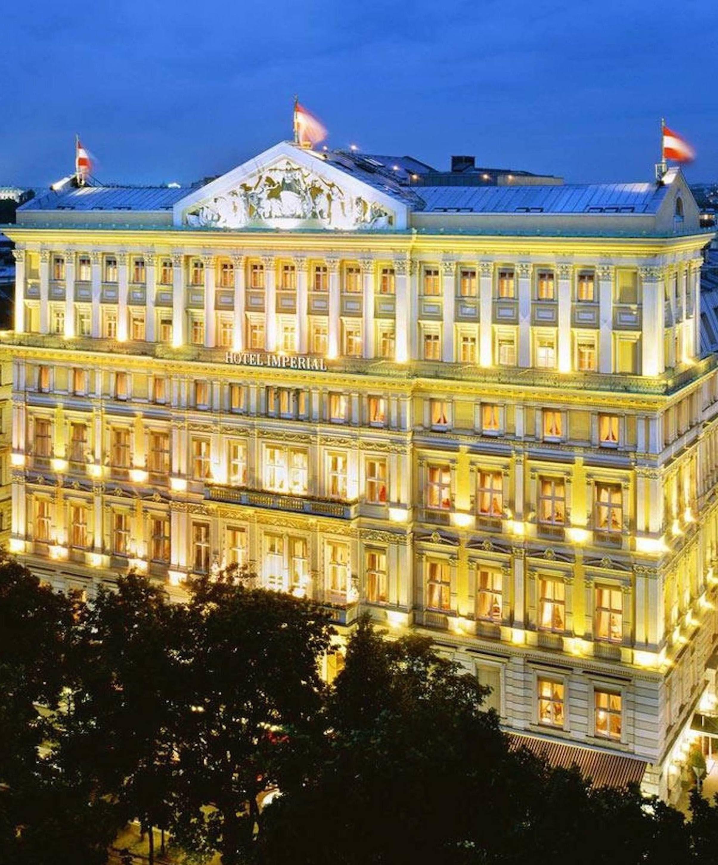 Vienna Austria. Elizabeth Taylor & Richard Burton Stayed